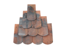 German Bullnose Tiles Beavertails Clown Feet